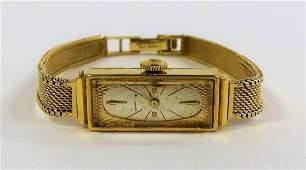 VINTAGE WITTNAUER 14KT YELLOW GOLD LADIES WATCH