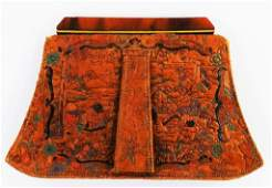 VINTAGE ASIAN LEATHER COIN PURSE
