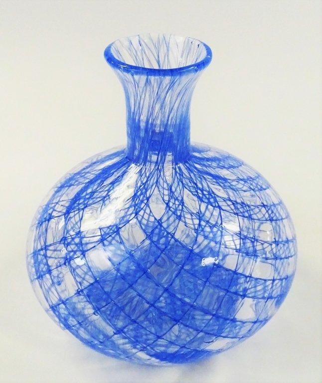 ARCHIMEDE SEGUSO FOR TIFFANY ART GLASS VASE