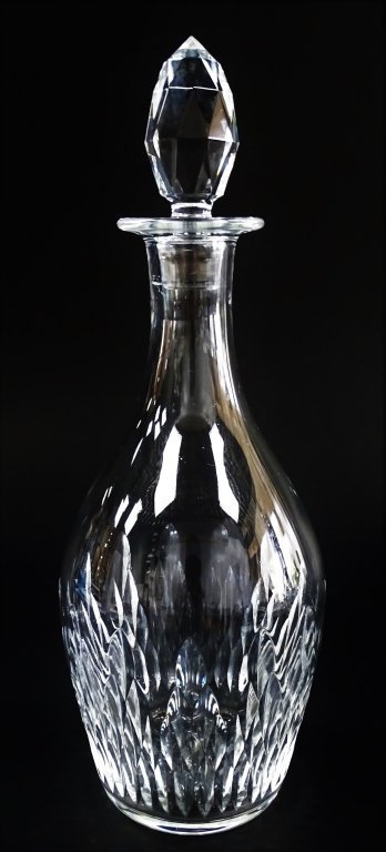 BACCARAT FRANCE CUT CRYSTAL DECANTER