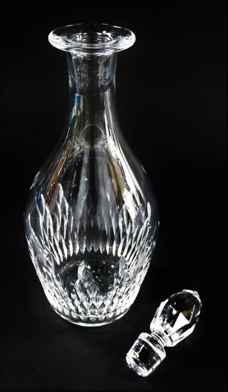 BACCARAT FRANCE CUT CRYSTAL DECANTER - 2