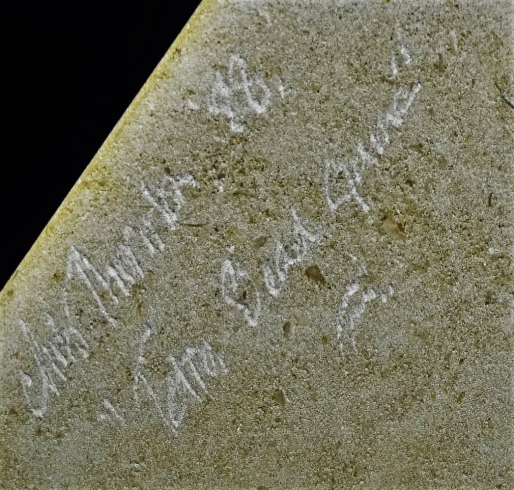 CHRIS THORNTON GRANITE & GLASS PYRAMID SCULPTURE - 4