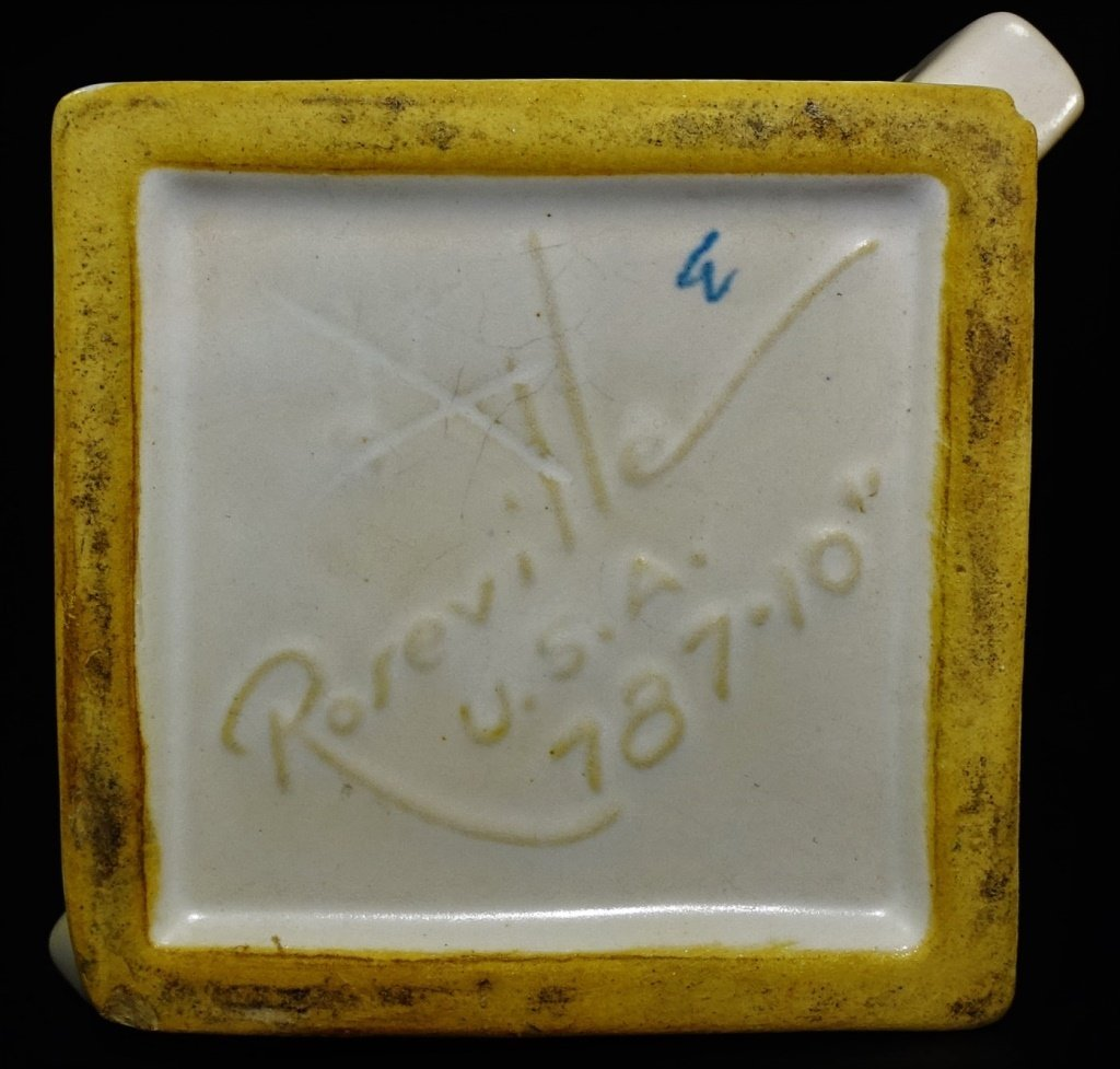 ROSEVILLE SILHOUETTE ART POTTERY VASE SHAPE #787 - 3