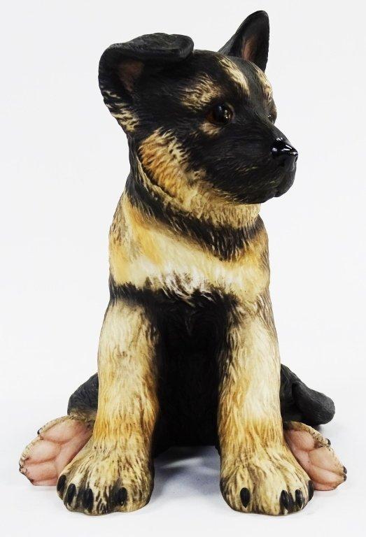 LENOX GERMAN SHEPHERD PORCELIAN PUPPY DOG