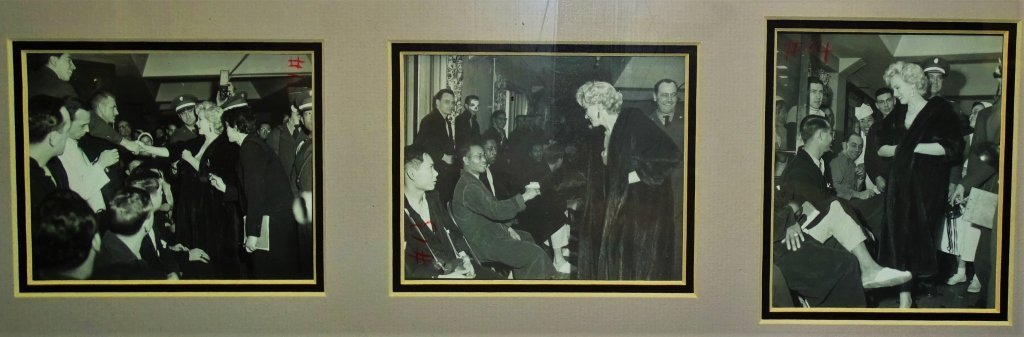 ORIGINAL MARILYN MONROE PICTURES VISITING SOLDEIRS - 4