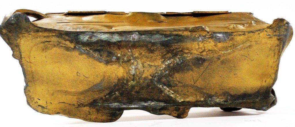 ORIGINAL ART NOUVEAU HINGED DRESSER CASKET BOX - 4
