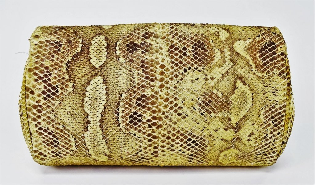 MARIO VALENTINO WOMANS SNAKESKIN CLUTCH BAG - 3
