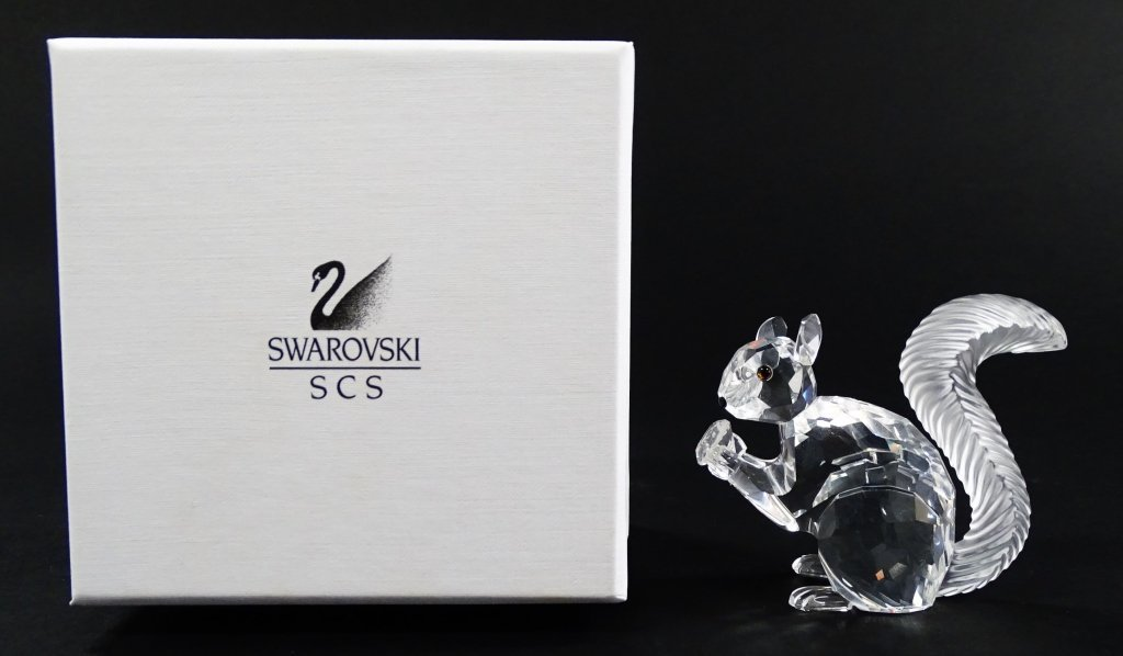 SWAROVSKI CRYSTAL SCS 10TH ANNIVERSARY SQUIRREL