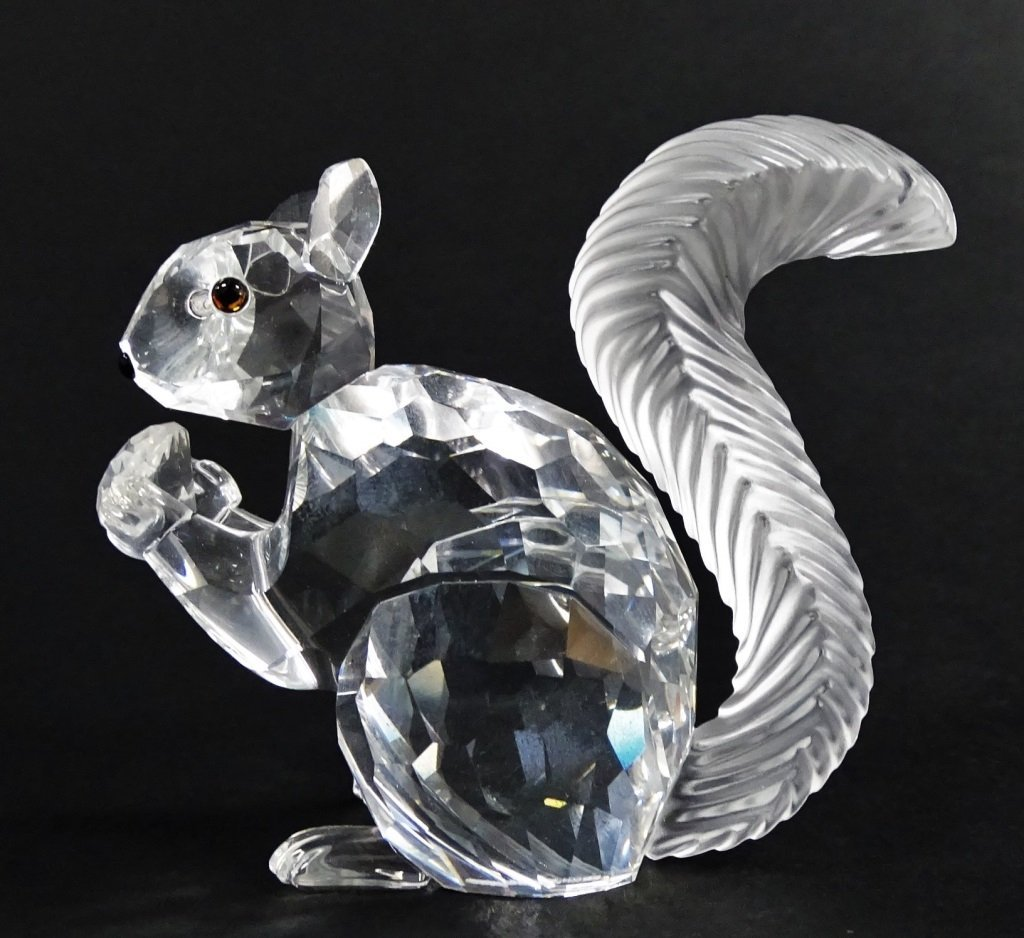 SWAROVSKI CRYSTAL SCS 10TH ANNIVERSARY SQUIRREL - 2