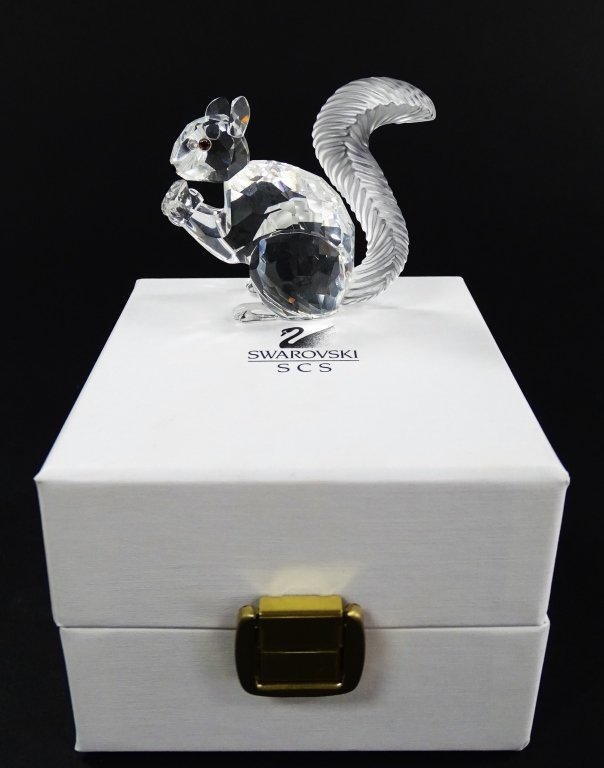 SWAROVSKI CRYSTAL SCS 10TH ANNIVERSARY SQUIRREL - 3
