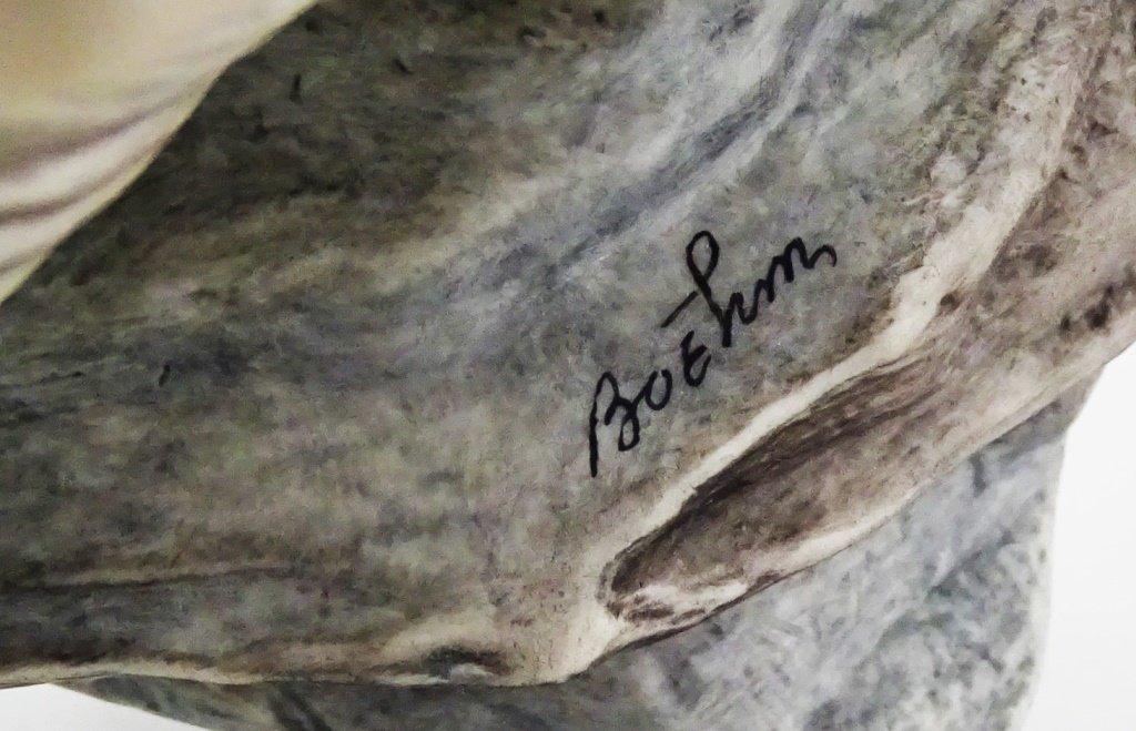 BOEHM PORCELAIN YOUNG AMERICAN BALD EAGLE - 6