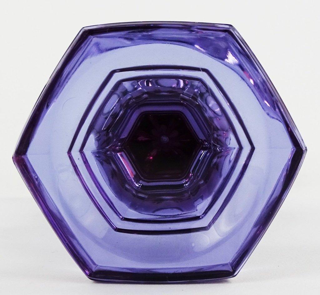 MOSER ALEXANDRITE/NEODYMIUM GLASS VASE - 3