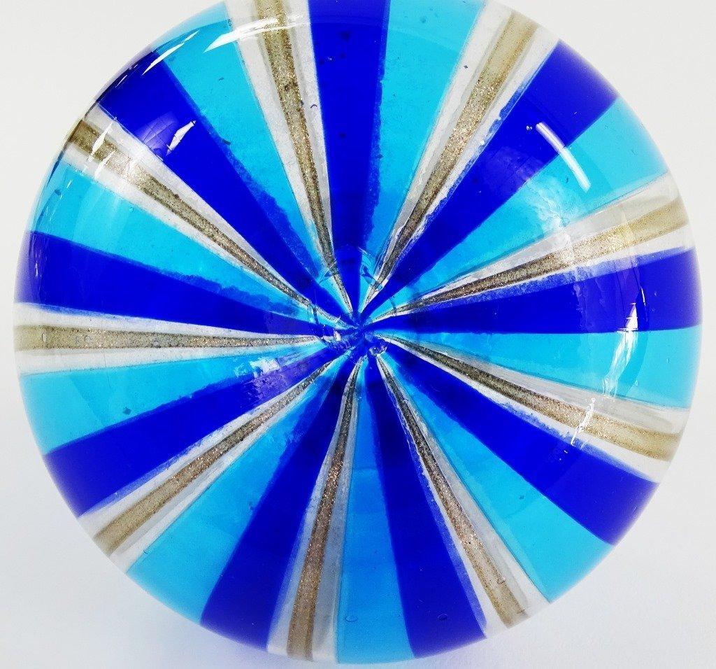 VENETIAN ART GLASS VASE - 4