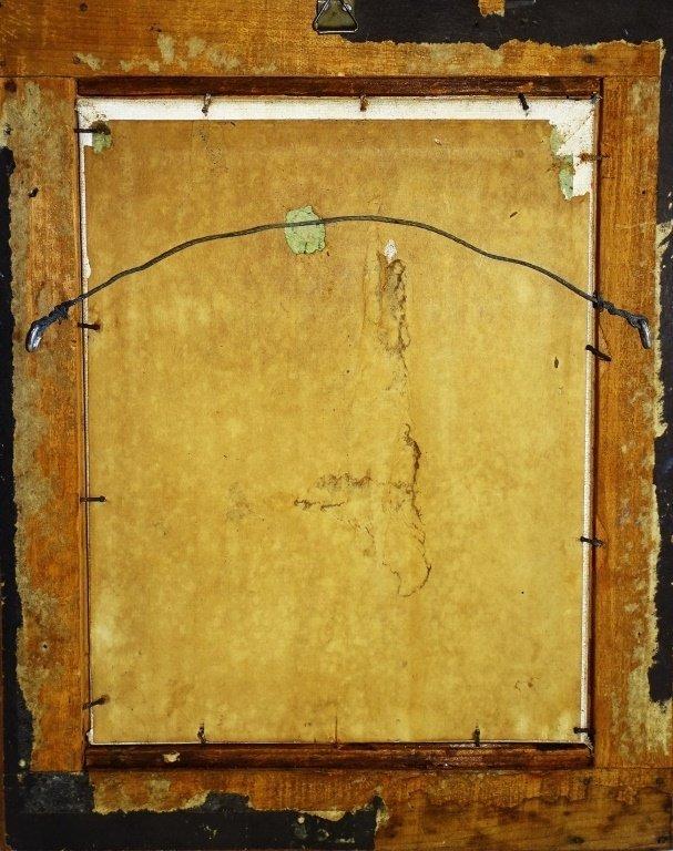 CHARLES HOPKINSON ORIGINAL PORTRAIT OIL/BOARD - 5