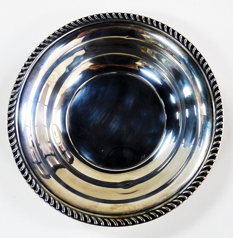 STERLING SILVER CANDY BOWL