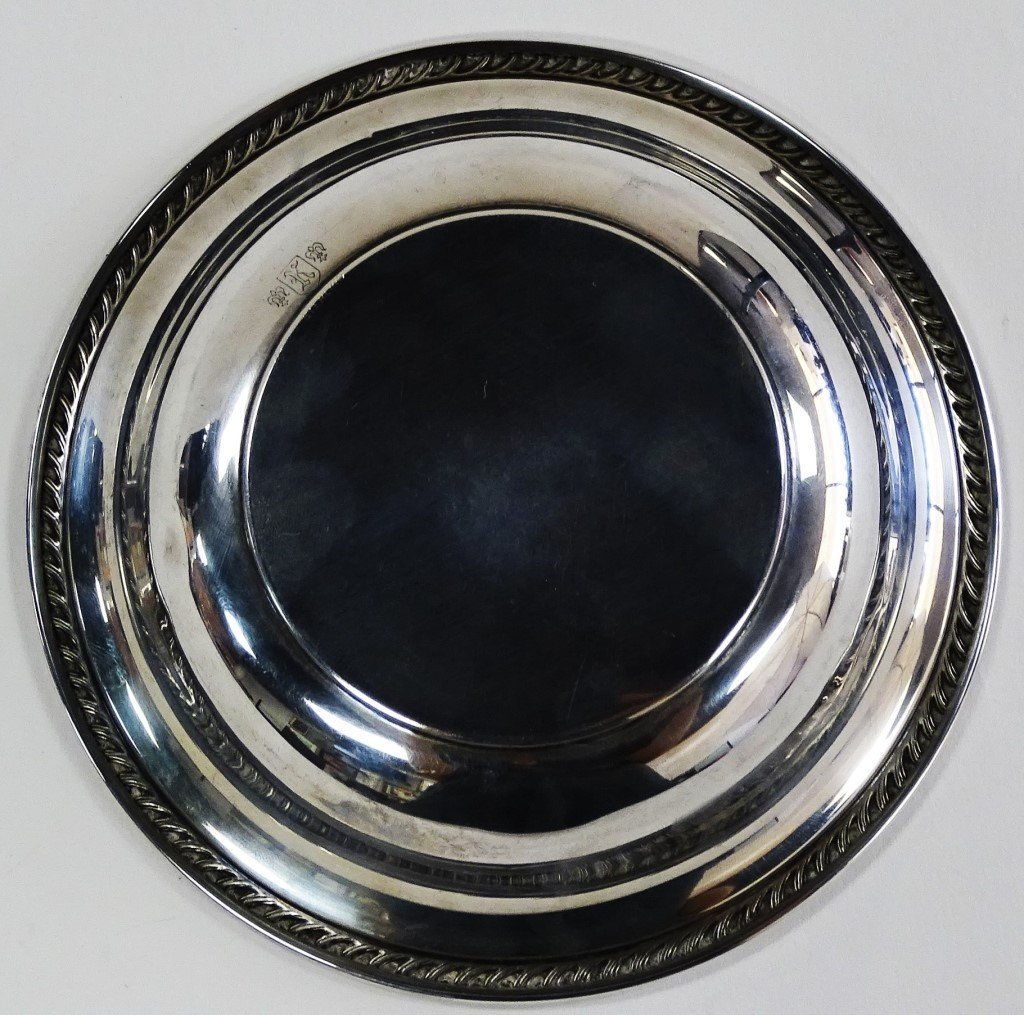 STERLING SILVER CANDY BOWL - 3