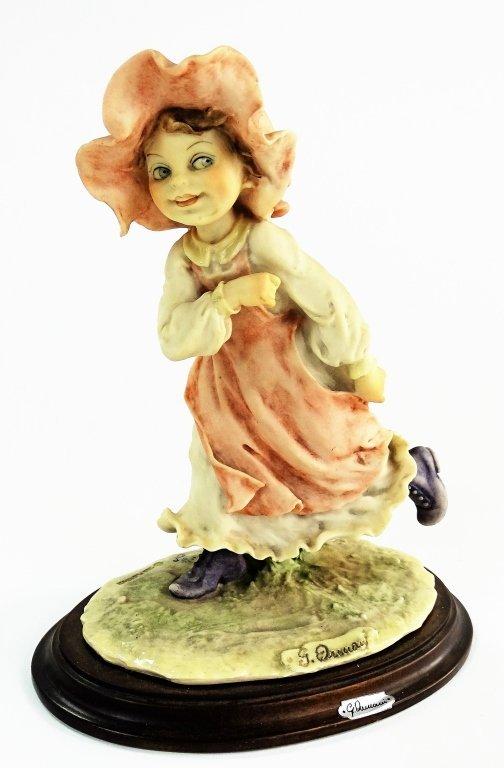 GIUSEPPE ARMANI FIGURINE OF A LITTLE GIRL
