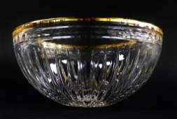 MARQUIS BY WATERFORD CRYSTAL HANOVER BOWL