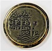 SPANISH OR MEXICAN PIECE OF EIGHT SILVER REALE