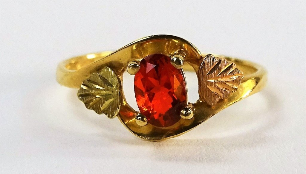 CHILDS 10KT Y GOLD RING