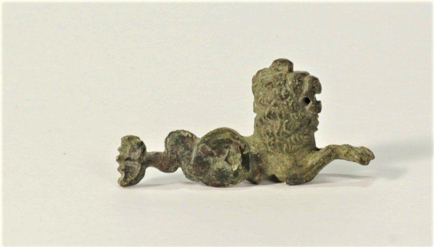A Roman Bronze Figurine of a Marine Monster
