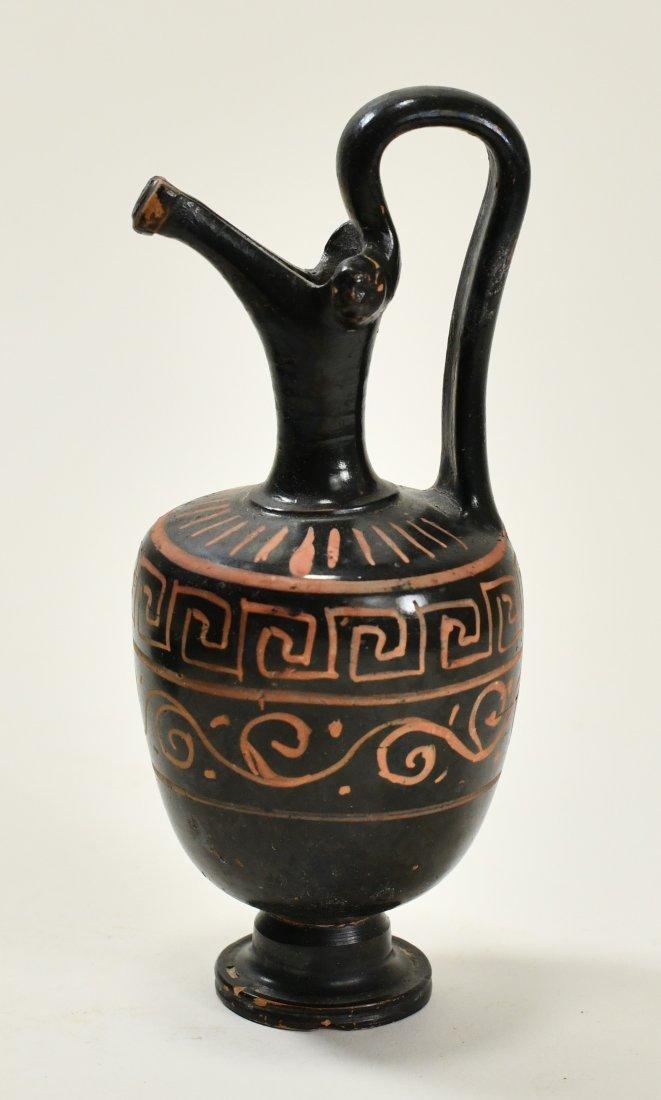 An Apulian Pottery Oinochoe