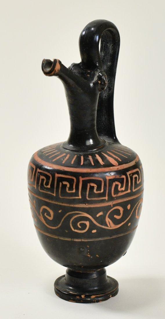 An Apulian Pottery Oinochoe - 2