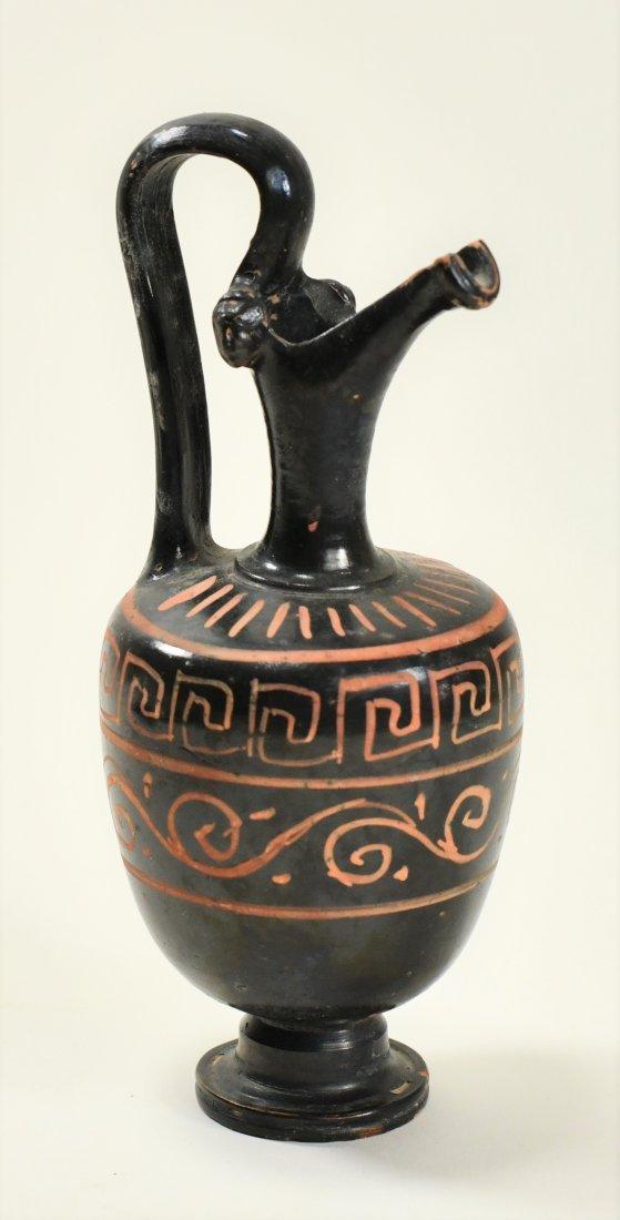 An Apulian Pottery Oinochoe - 3