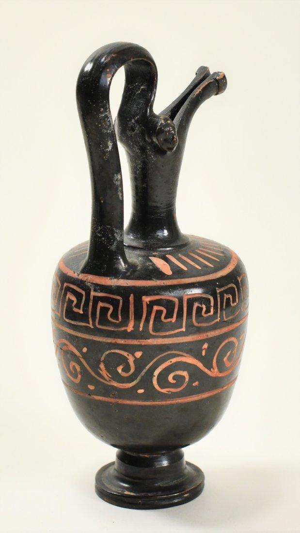 An Apulian Pottery Oinochoe - 4