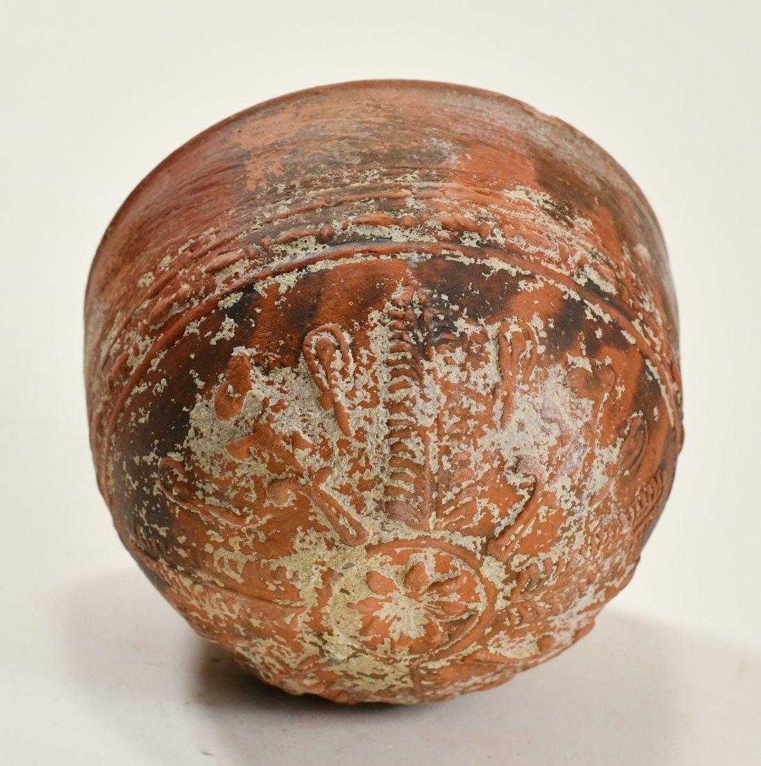 A Greek Pottery Megarian Bowl