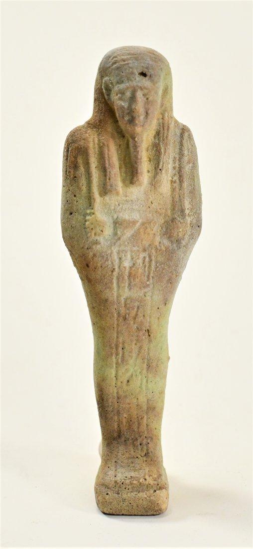 An Egyptian Faience Ushabti