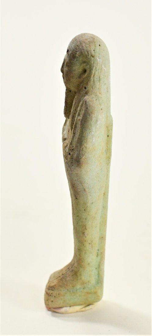 An Egyptian Faience Ushabti - 4
