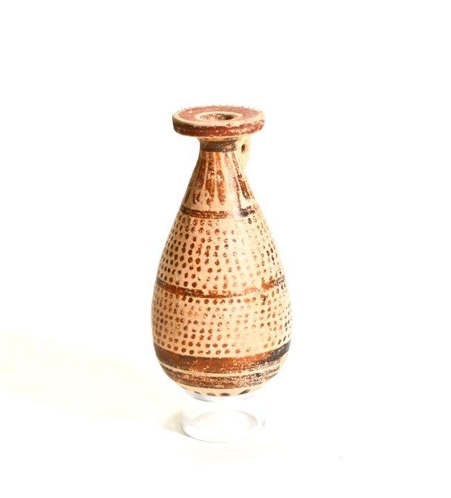 A Greek Corinthian Pottery Alabastron - 2