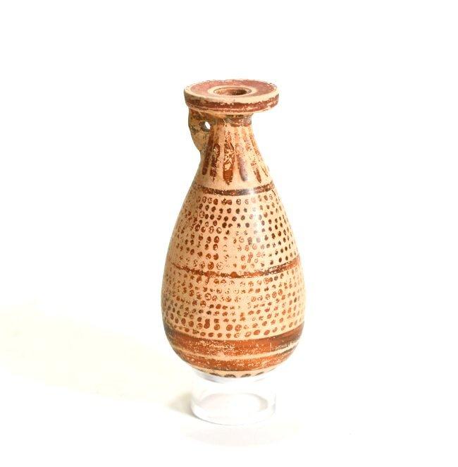 A Greek Corinthian Pottery Alabastron - 3