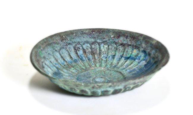 An East Greek Bronze Offering Dish (Phiale) - 3
