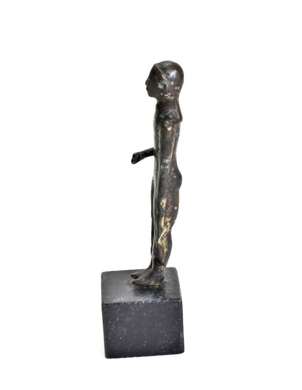 A Greek Bronze Nude Kouros - 4