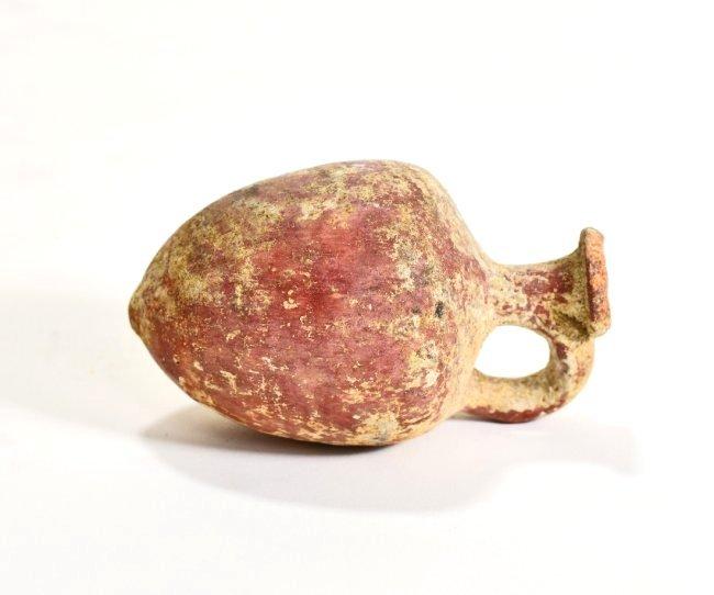 A Holy Land Single Handled Pottery Amphora - 5