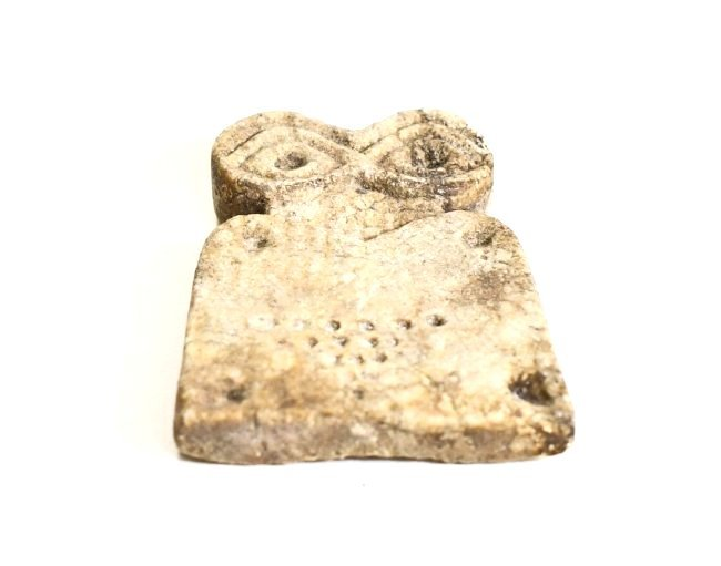 A Rare Tel-Brak Female Marble Eye Idol - 3