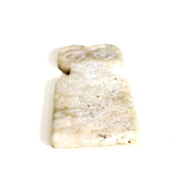 A Tel Brak Marble Eye Idol - 3