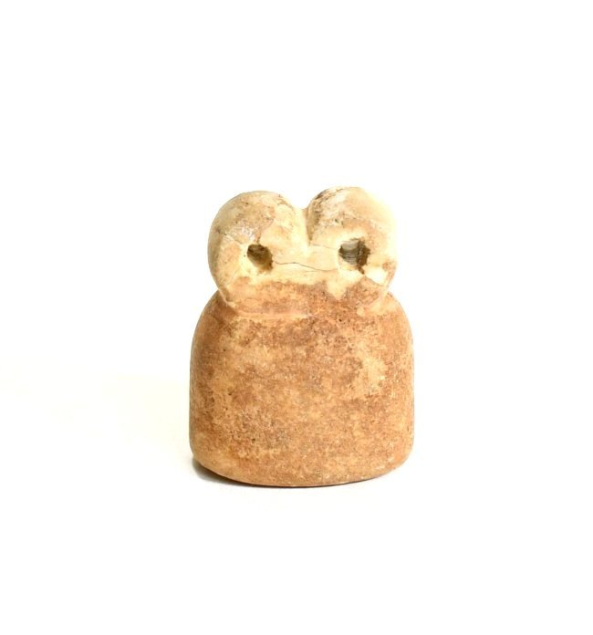 A Mesopotamian Stone Eye Idol - 2