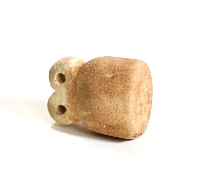 A Mesopotamian Stone Eye Idol - 6