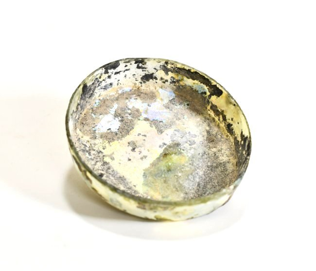 A Late Roman Shallow Glass Dish - 3