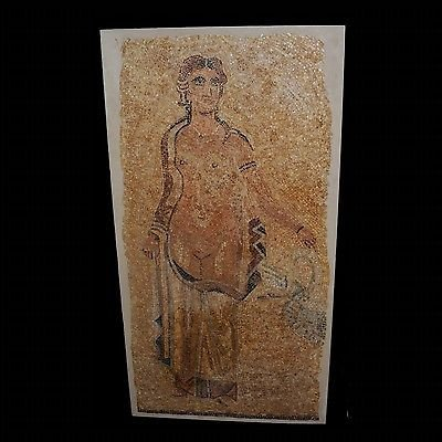 A Published Roman Mosaic Panel of a Standing Woman