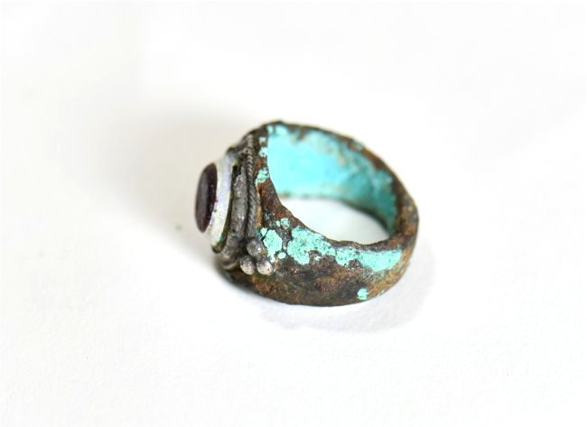A Roman Silver Ring - 4