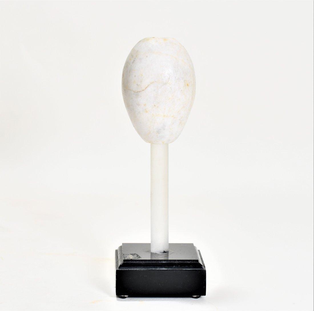 A Mesopotamian Marble Mace Head