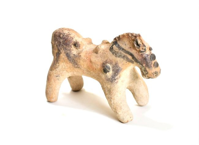 A Cypriot Pottery Horse - 4