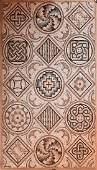 Roman Mosaic with Geometrical Patterns