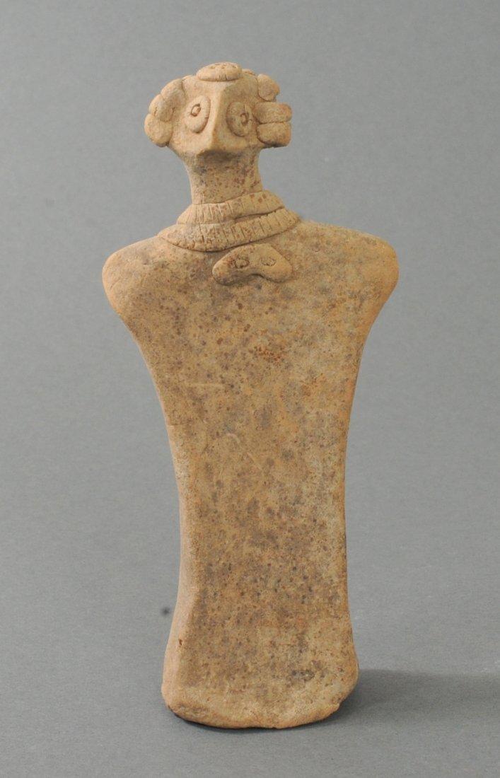 ANCIENT FEMALE TERRACOTTA IDOL