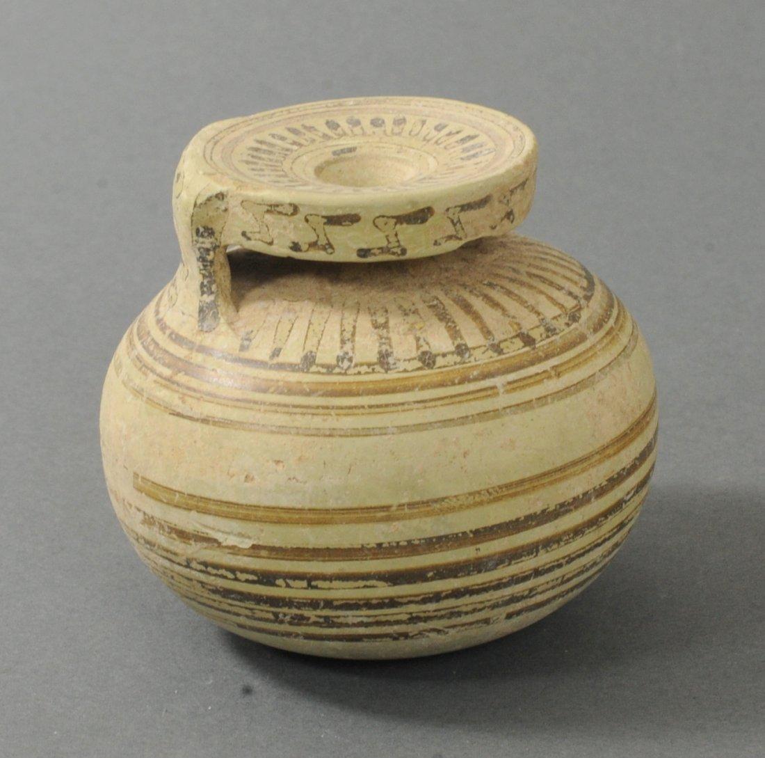 ANCIENT CORINTHIAN CIRCLE MOTIF ARYBALLOS
