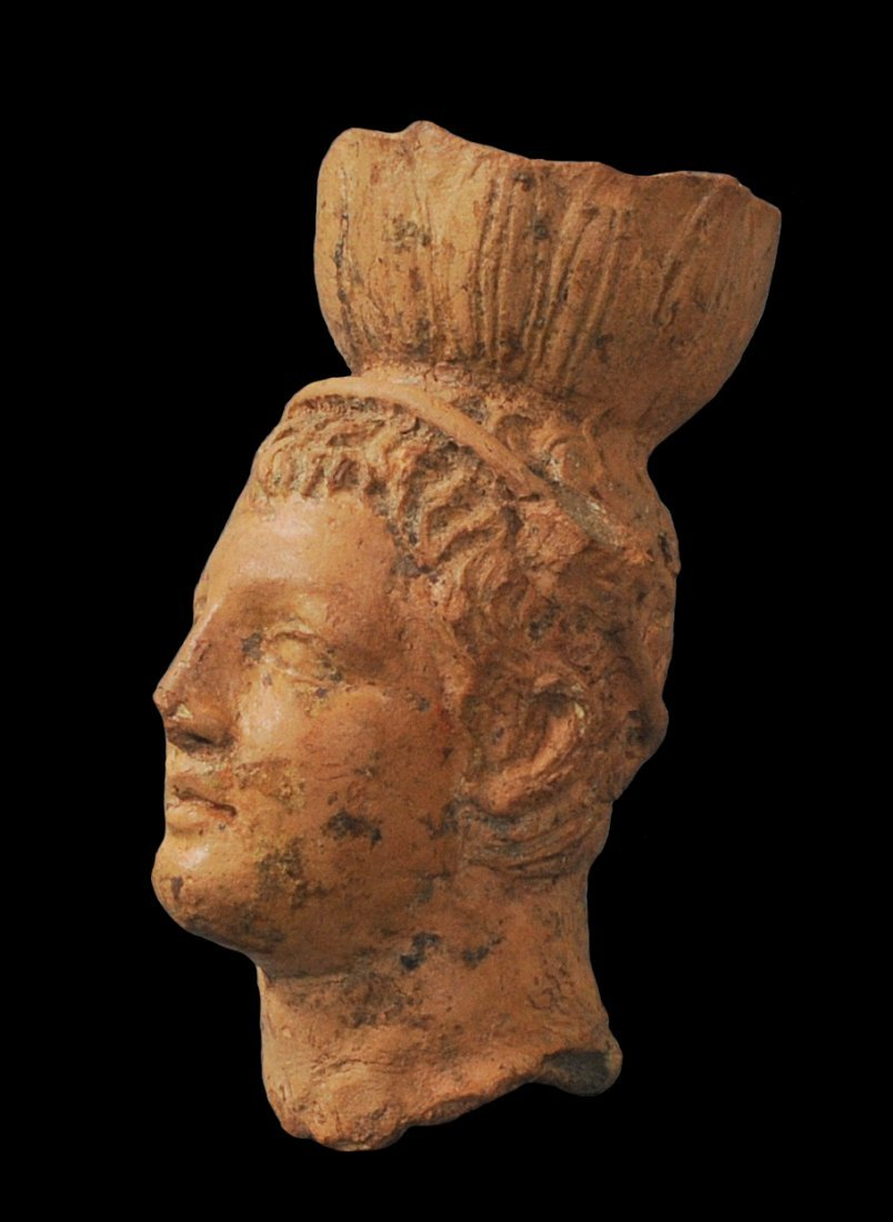 ANCIENT AUGUSTAN PERIOD MALE GENERAL HEAD